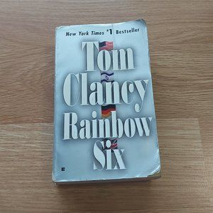 Mix & Match 2 for $10 Books! - Rainbow Six by Tom Clancy Paperback